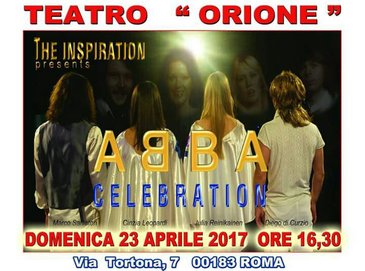 ABBA the inspiration Orione Roma