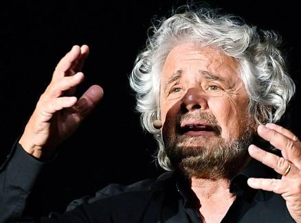 beppe grillo ANSACorriere